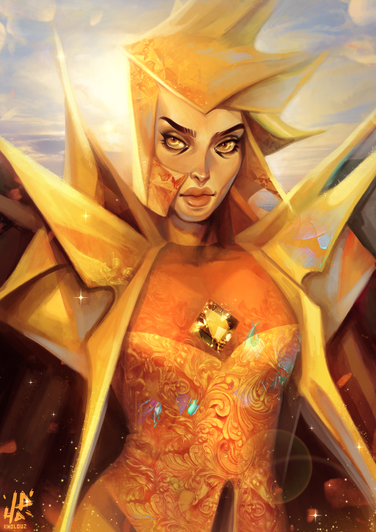 Yellow Diamond by Kholouz