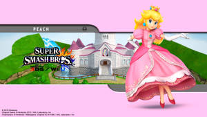 Peach Wallpaper - SSB for 3Ds / Wii U