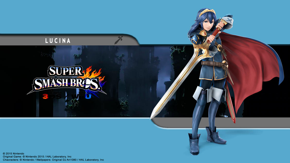 Lucina Wallpaper - SSB for 3Ds / Wii U by DJAri1080 on ...