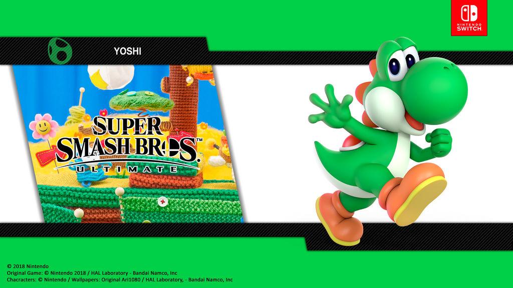 Yoshi Super Smash Bros Ultimate By Djari1080 On Deviantart