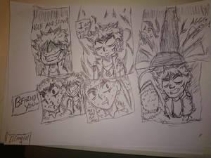 elemental 4 mitsuru vs baraku fight scene part 2