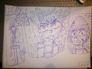 elemental 4 jay  awkend his first form