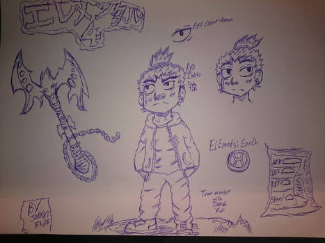 elemental 4  Ryo Iwao desgin