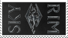 Skyrim Stamp by Utanashati