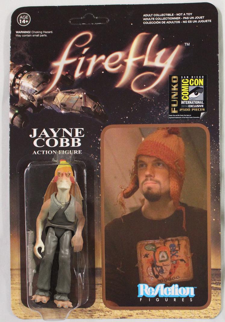Jayne Jayne Binks Action Figure by NegOne