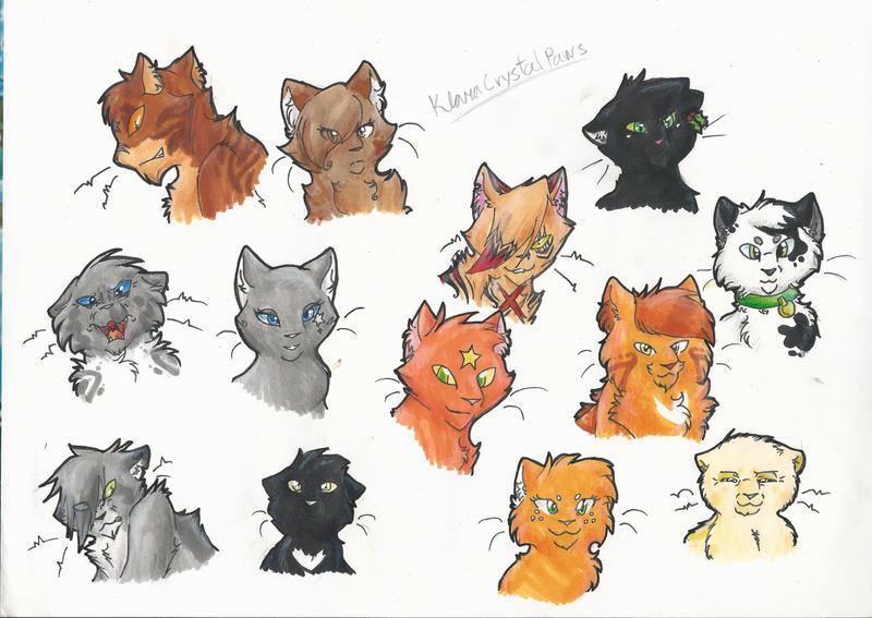 Crystal Clan Warrior Cats