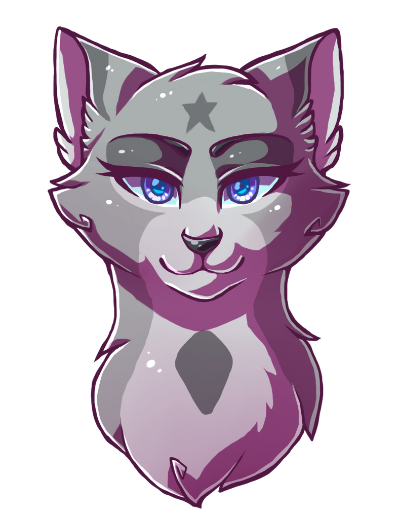 Bluestar by Klaracrystalpaws on DeviantArt Warrior Cat Drawings Bluestar