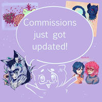 NEW COMMISSIONS ARE OPEN