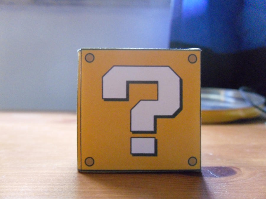 Mario question box by Rickdaos