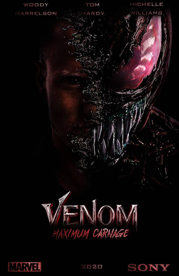 Venom Maximum Carnage Fan Poster By Warfighter268 On Deviantart