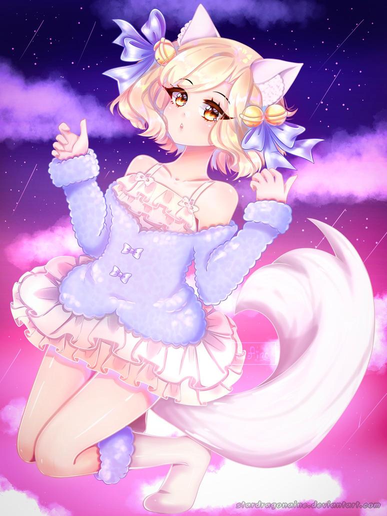 Art trade with Ririna-chan by StarDragonAine