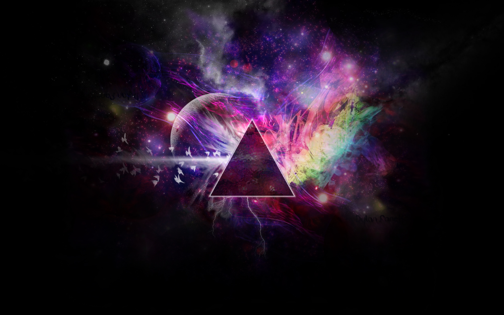Darkside Of The Moon Space Art By Boobooi On DeviantArt