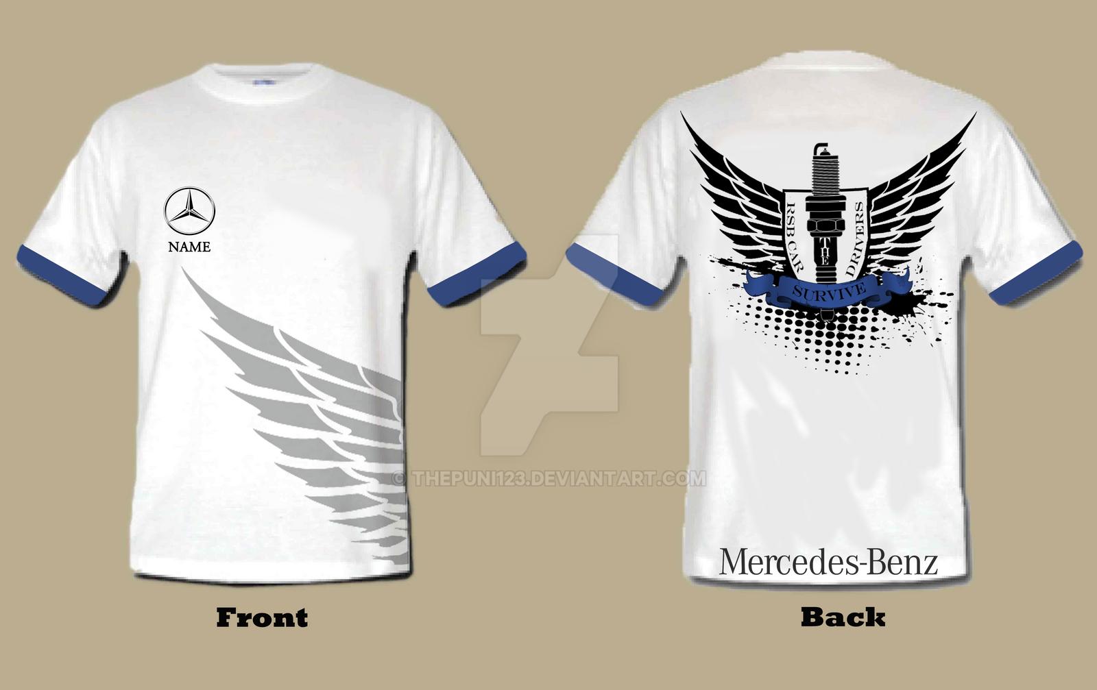 T shirt mercedes benz by thepuni123 on deviantart for Mercedes benz t shirt