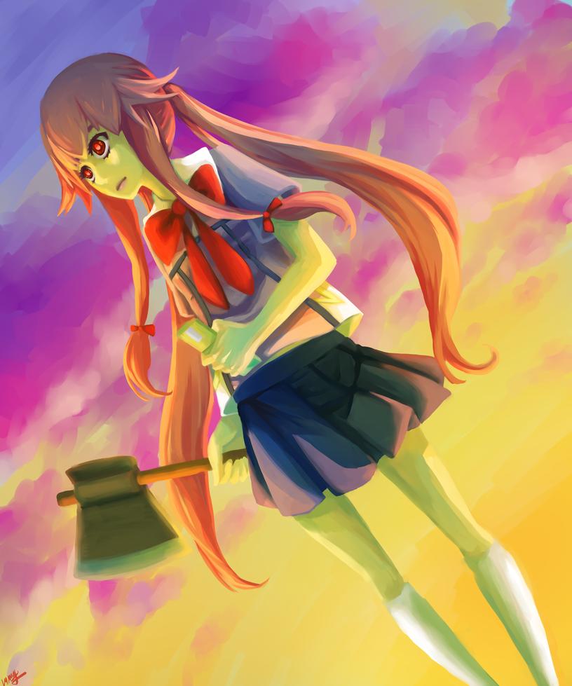Yuno Gasai by TwigPrince