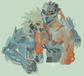 raiden and genji