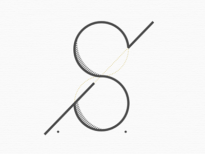 My personal initials logo by petrsimcik