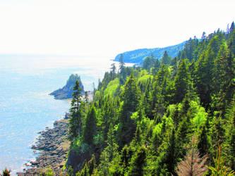 Fundy Coast by mcorvec