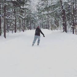Woodland Skate by mcorvec