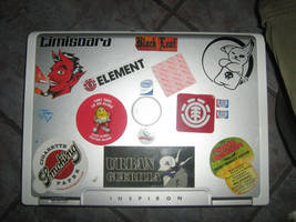 my inspiron from Dell by alexxxbran