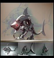 Shark Rex by heckthor