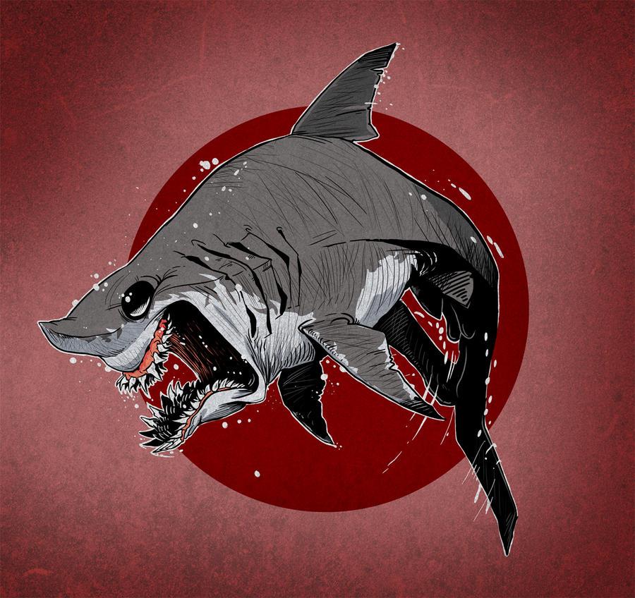 Shark Tshirt idea by heckthor