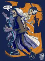 Frankenstein's Bride by heckthor
