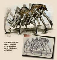 Rhino Spider by heckthor