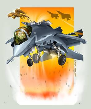 X-35 Cartoon