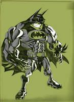 Quick Batman Sketch by heckthor