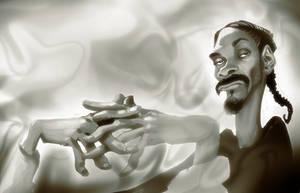 Snoop Dogg SpeedPaint by heckthor
