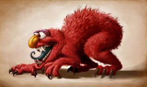 Elmo is a Monster right? by heckthor