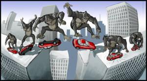 Skate Kong
