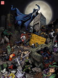 Welcome to Gotham City- final by skyloreang