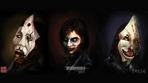 Zombie Trese Wallpaper