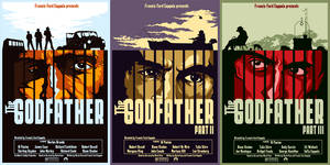 The Godfather Poster series