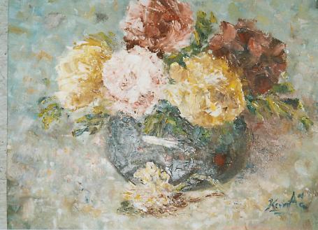 Flower Pot by skyloreang