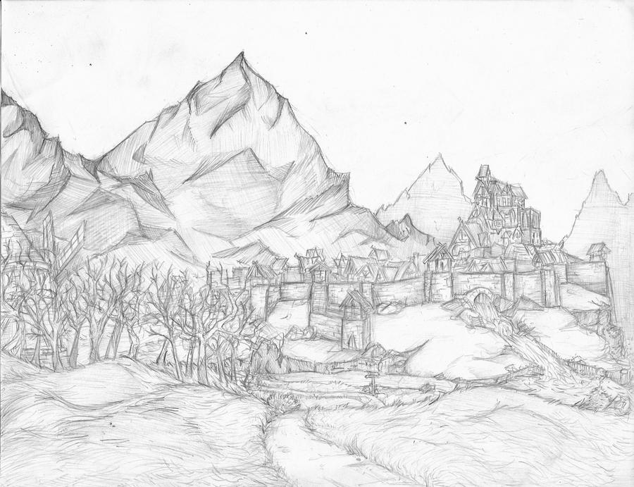 Flowing Plains Of Whiterun by catsrock7