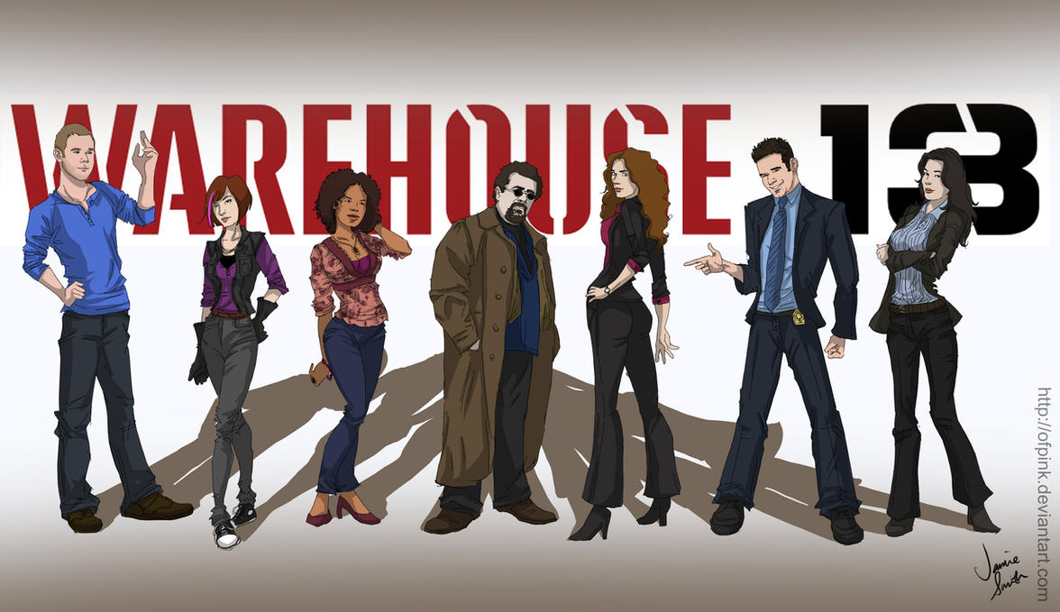 Warehouse 13 By Ofpink On Deviantart