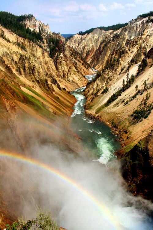 Grand Canyon of Yellowstone by YellowEleven