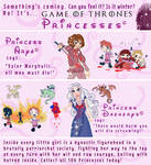 Game of Thrones PRINCESSES!