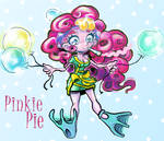 Pinkie Pie (Tries) Cheering Up the Dragon