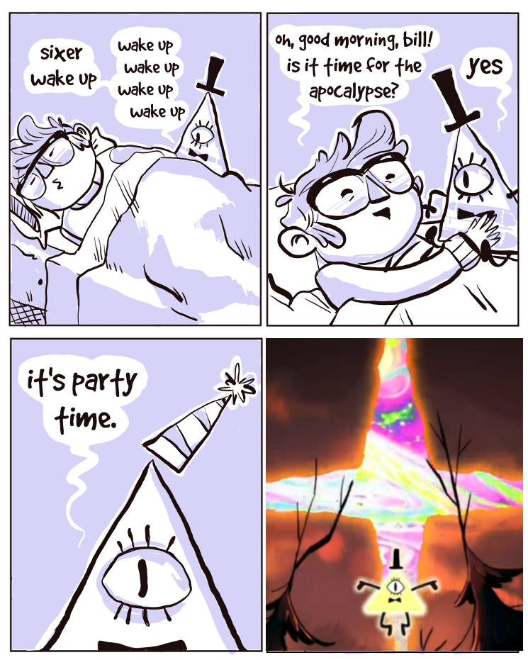 8e6b07e5c20a Bill Cipher s Party Time is finally here! by Thinston on DeviantArt