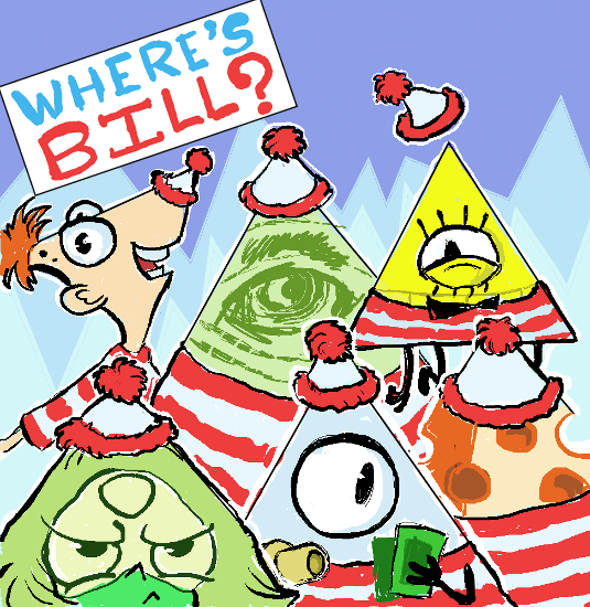 Where's Bill Cipher? by Thinston