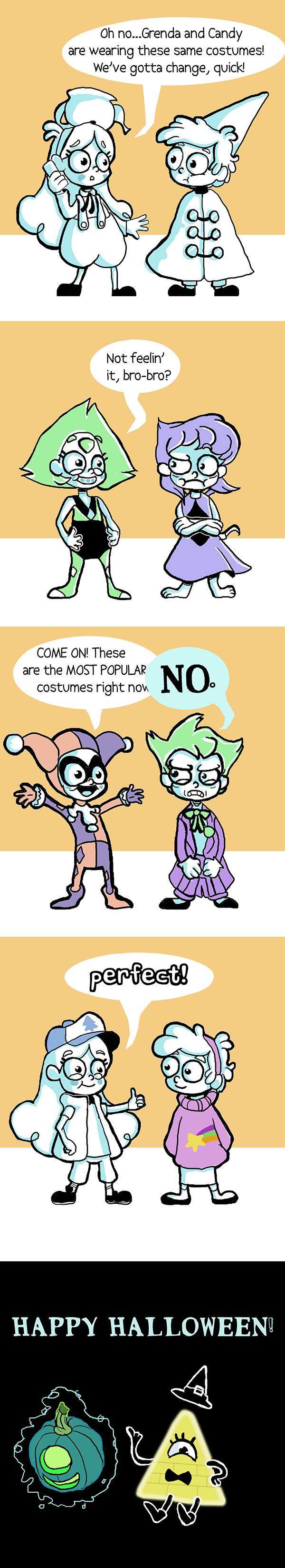 gravity falls halloween 2016: costume dilemmathinston on deviantart