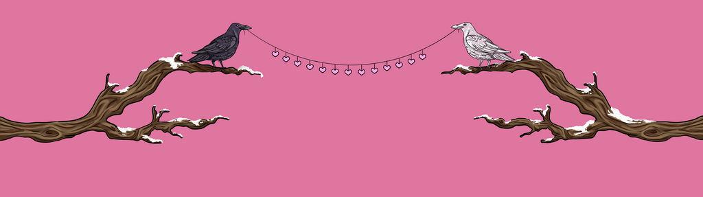 dA journalSkin header valentine by OakenshieldArt