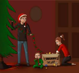 Digital December 1 by OakenshieldArt