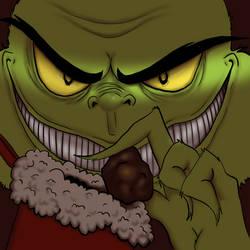 Digital December: The Grinch by OakenshieldArt