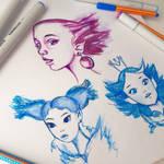 Sketchmarkers drawings by Dariyaus
