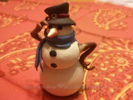 Tiny Snowman Pet by Euphyley