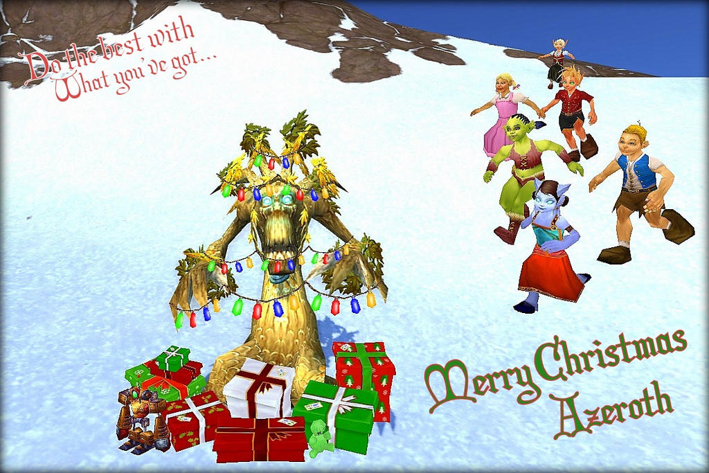 Wow Christmas.Icy Veins Christmas Contest Page 2 News Icy Veins Forums